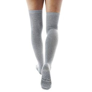 Treadfast Tall Ceanne Sock in Light Grey
